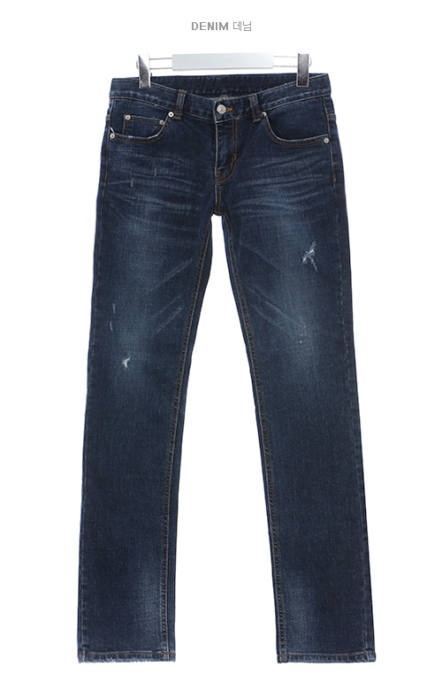 总汇韩国服装网上商店,韩国款式服装折扣 男性时装 裤子 伽玛蓝色基